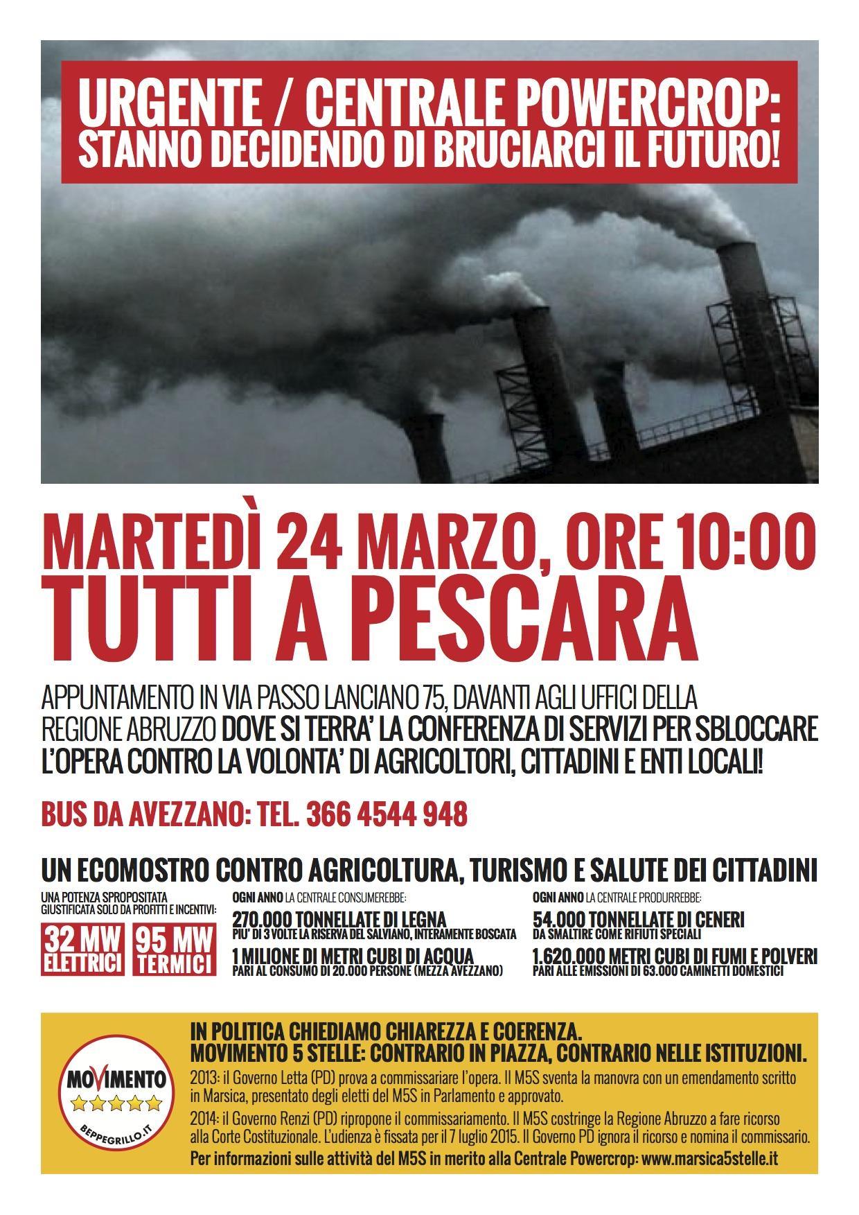 M5S_avezzano_Powercrop_Pescara_locandina