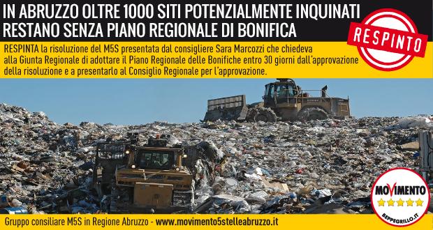 M5S_Abruzzo_risoluzioni_16_Bonifiche