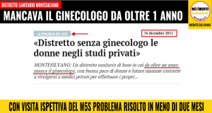 GINECOLOGO DISTRETTO
