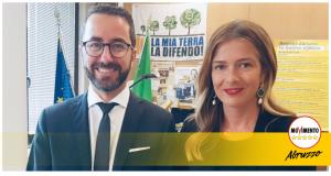 Pietro Smargiassi e Sara Marcozzi